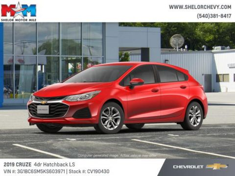 Pre-Owned 2019 Chevrolet Cruze 4dr HB LS