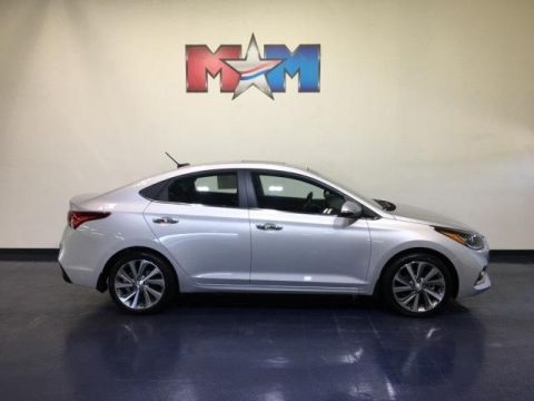 Pre-Owned 2018 Hyundai Accent Limited Sedan Auto