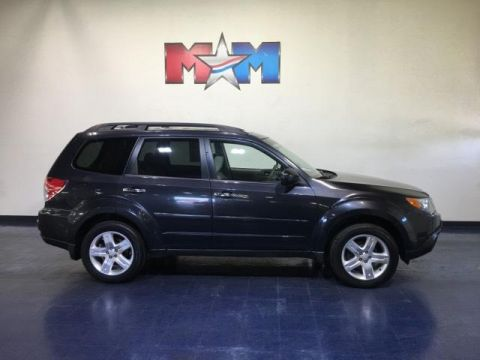 Pre-Owned 2009 Subaru Forester 4dr Man X w/Premium Pkg