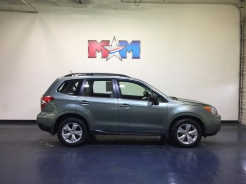 Certified Pre-Owned 2015 Subaru Forester 4dr CVT 2.5i PZEV