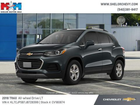 New 2018 Chevrolet Trax AWD 4dr LT