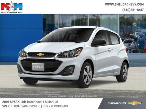 New 2019 Chevrolet Spark 5dr HB Man LS