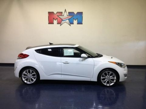Pre-Owned 2013 Hyundai Veloster 3dr Cpe Auto w/Gray Int