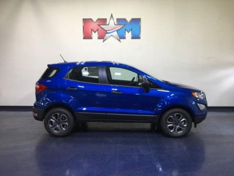 New 2019 Ford EcoSport S FWD